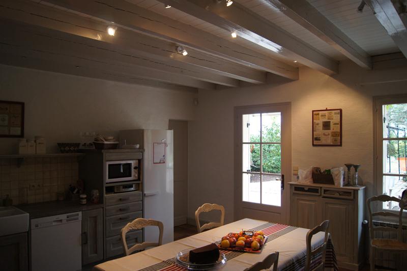 R alisations chantiers for Peindre un plafond avec des poutres